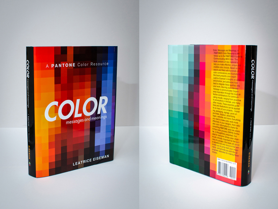 "book: A Panatone color resource ""Color messages and meanings"" by Leatrice Eiseman. LSU BFA Studio Art Graphic Design"