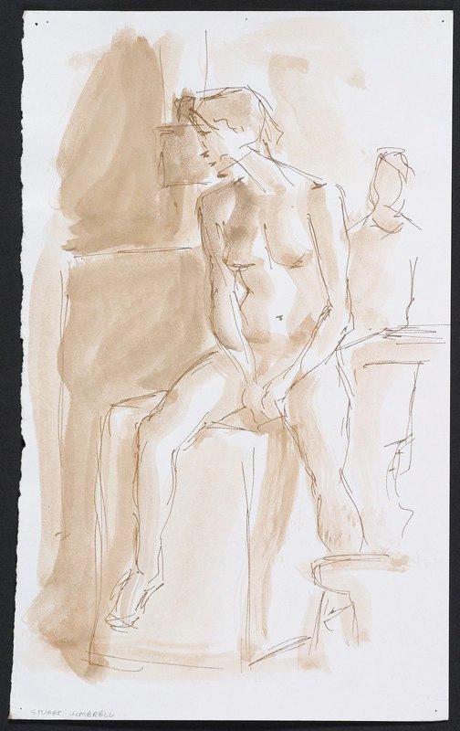 Figure drawing. LSU BFA Studio Art Painting Drawing