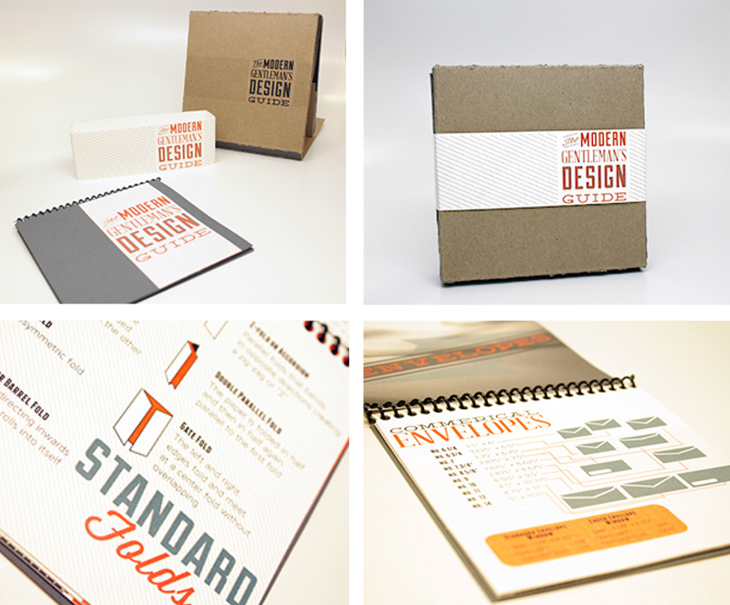 The Modern Gentleman's Design Guide. LSU BFA Studio Art Graphic Design