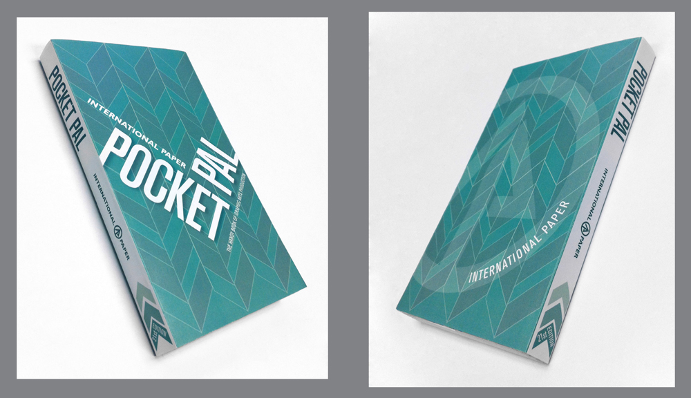 Pocket Pal paper design, LSU BFA Studio Art Graphic Design
