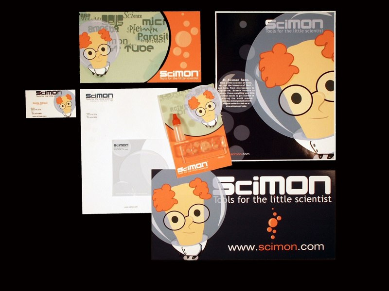 "Design ""SciMon Tools for the little scientist"" - LSU BFA Studio Art Graphic Design"