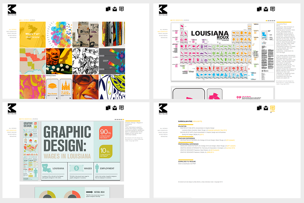 LSU BFA Studio Art Graphic Design