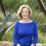 Barbara Austin in desert landscape, lsu landscape architecture alumni