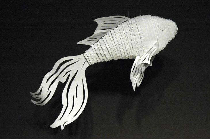 Fish sculpture, LSU BFA Studio Art Sculpture