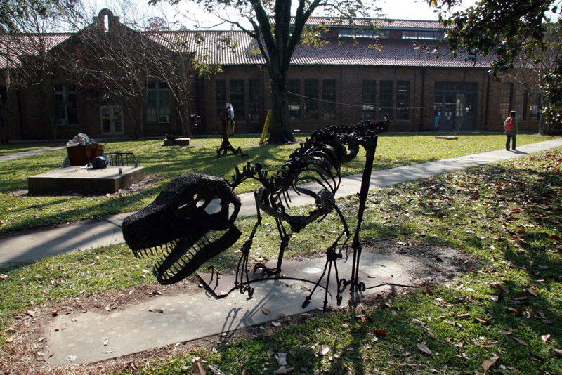 Dinaosaur. LSU BFA Studio Art Sculpture
