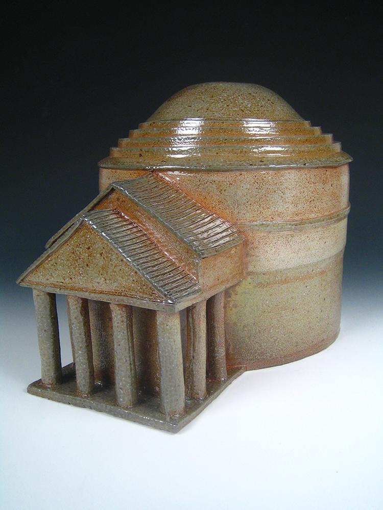 Monticello shape, LSU BFA Studio Art Ceramics