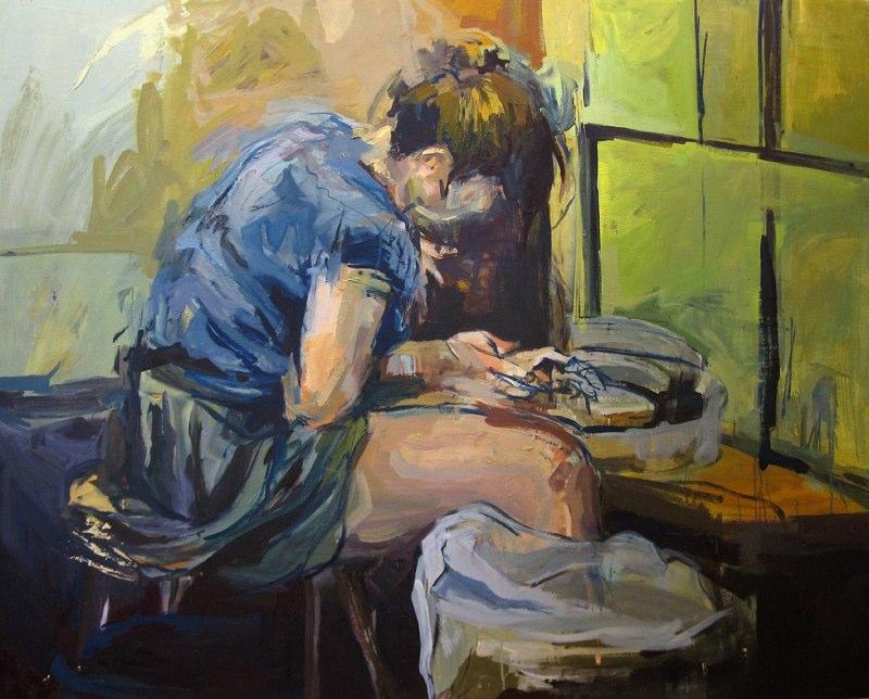 Leo Madriz LSU BFA Studio Art Painting Drawing