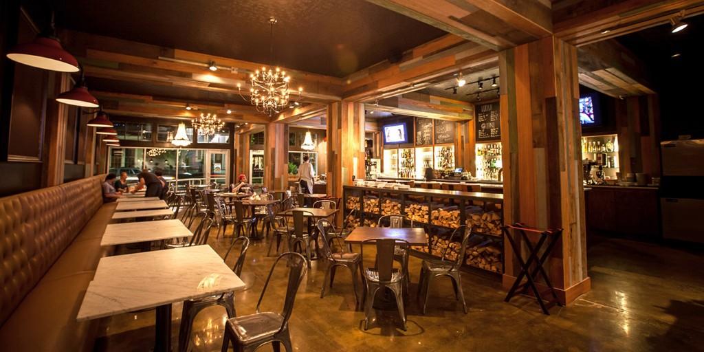 Restaurant interior space, lsu architecture alumni work