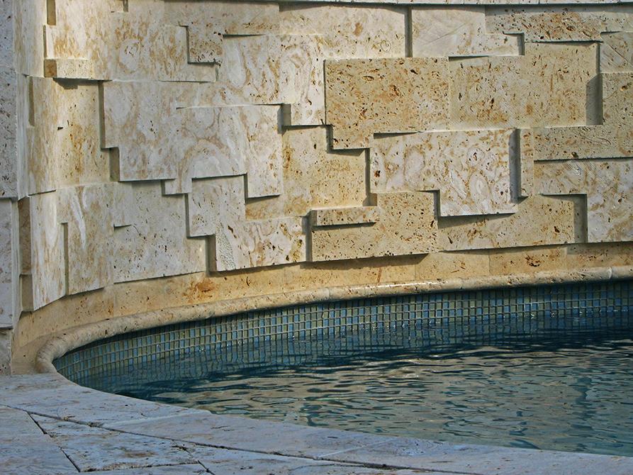 Fountain designed by Lewis Aqui , lsu landscape architecture alumni work