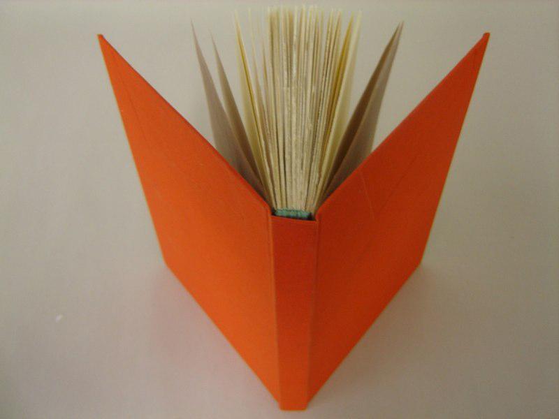 Orange book, LSU BFA MFA Studio Art Printmaking Book Arts