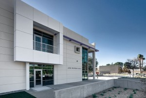 Contemporary building exterior, lsu architecture alumni work