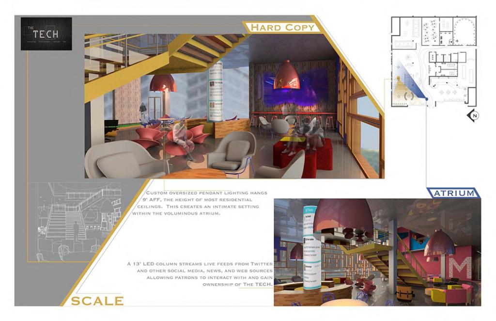 lsu interior design student work