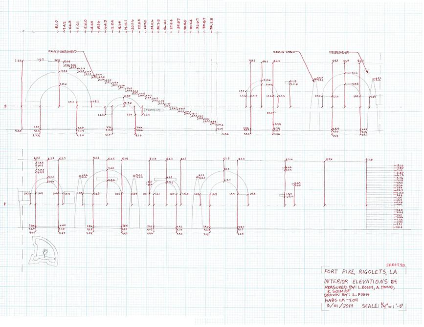 Field sketch, lsu architecture student work