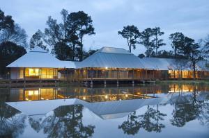 lsu hilltop arboretum by water