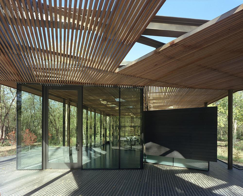 Marlon Blackwell visior pavillion, architecture