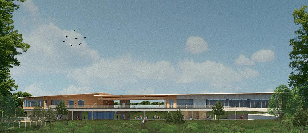 Brazos Bend Environmental Learning Center exterior