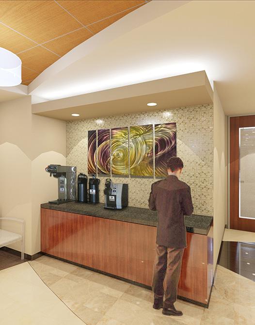 coffee bar, lsu architecture alumni work