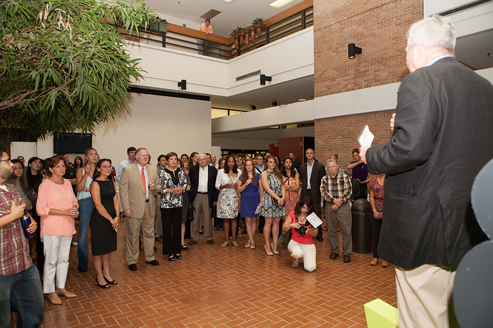 lsu college art and design scholarship reception