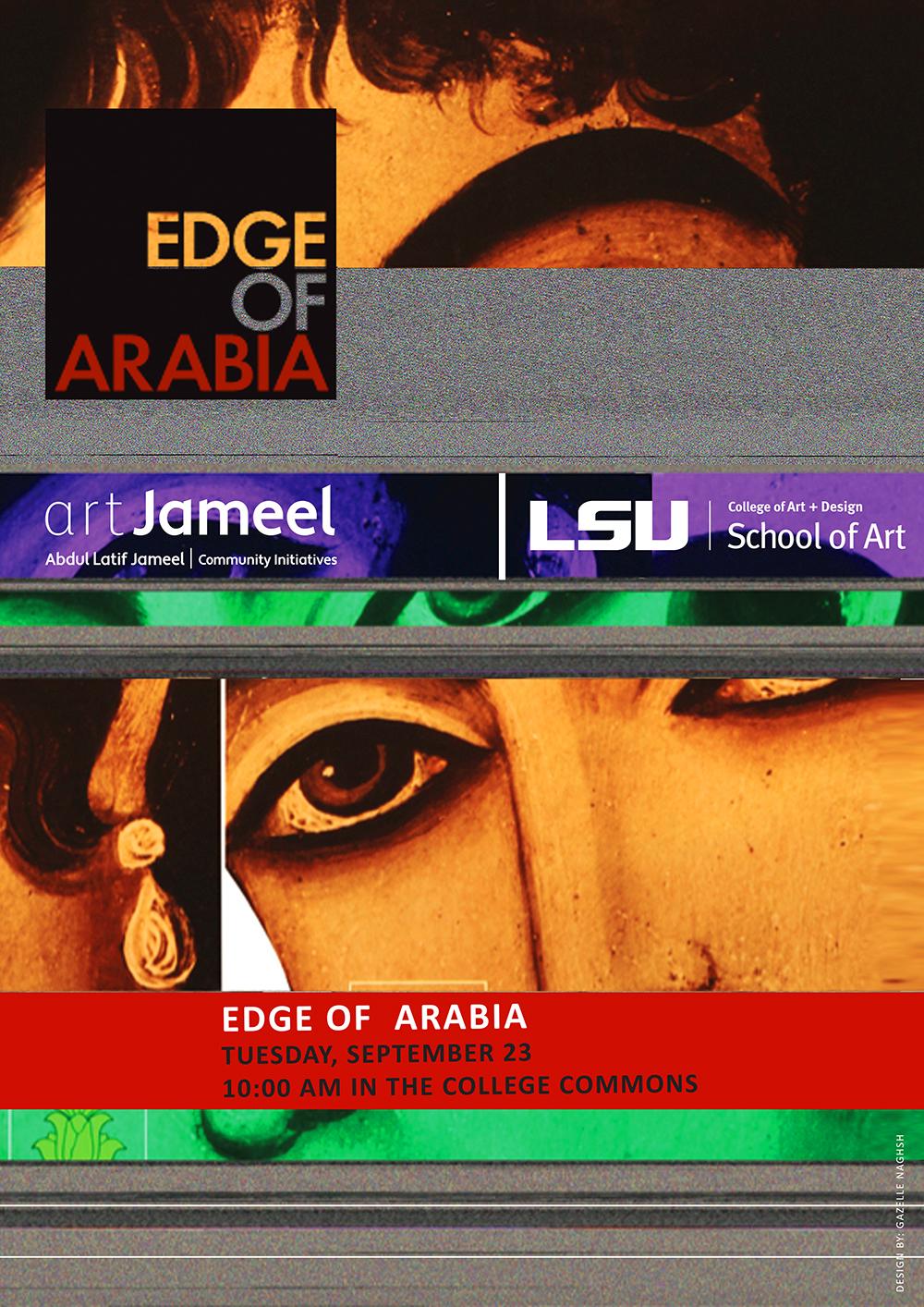 Edge of Arabia poster