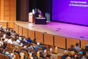 Lecture in the LSU Union Theatre