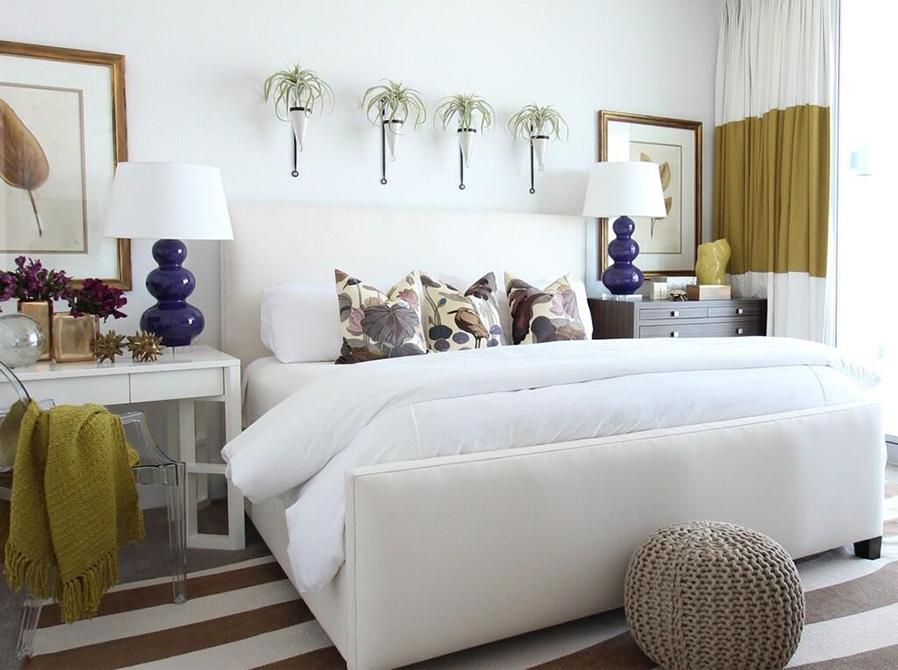 bedroom, lsu interior design alumni work