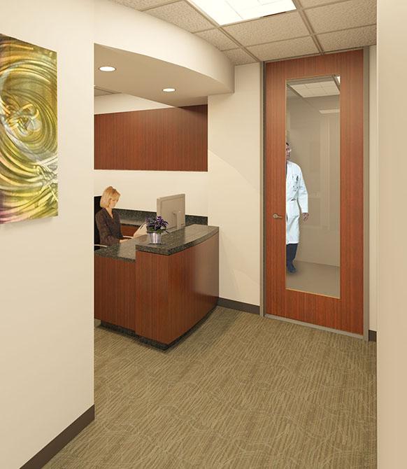 medical entrance, lsu architecture alumni work