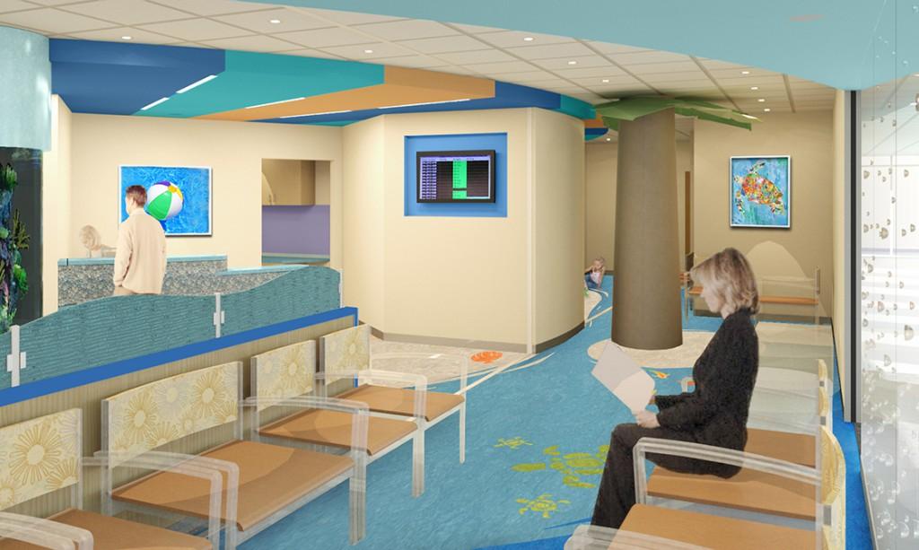 waiting room design, lsu architecture alumni work