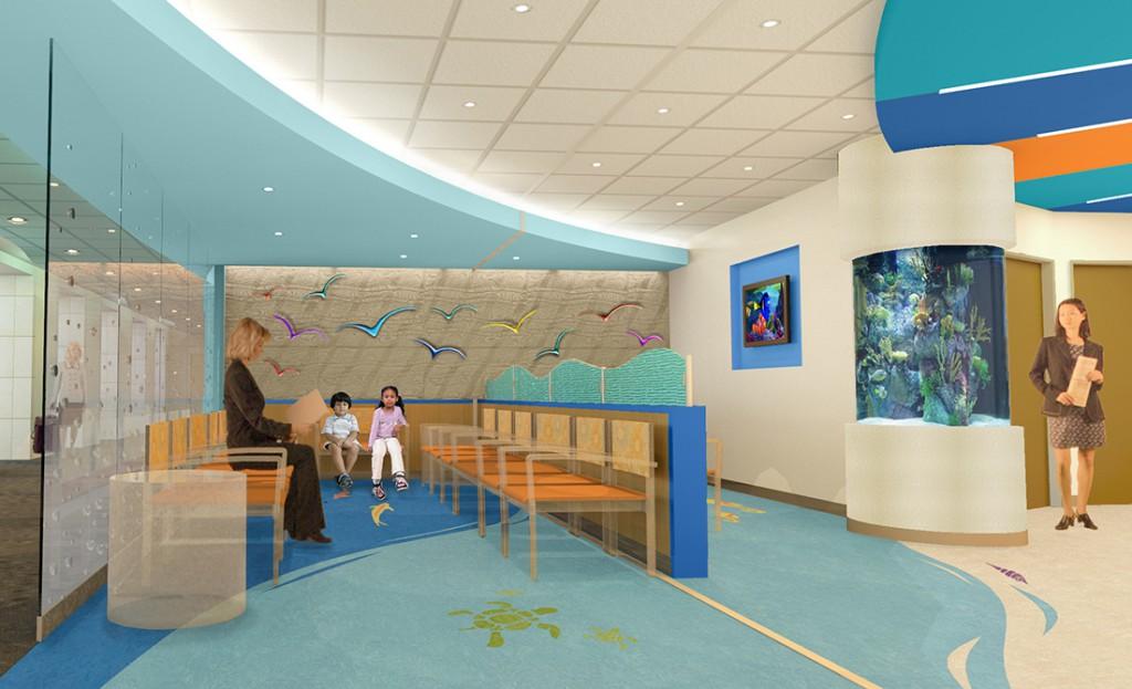 pediatric rendering, lsu architecture alumni work