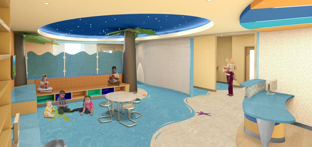 playroom rendering, lsu architecture alumni work