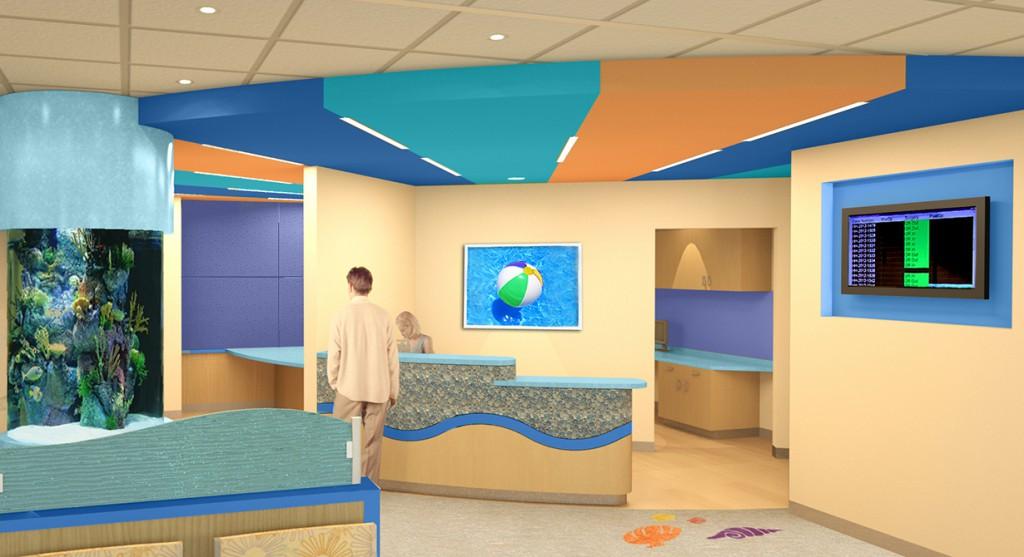 pediatric area design, lsu architecture alumni work