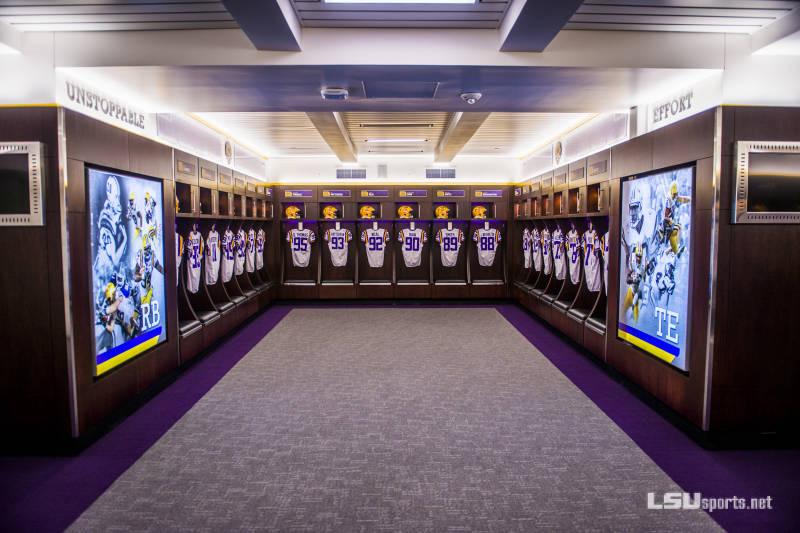 Tiger locker room
