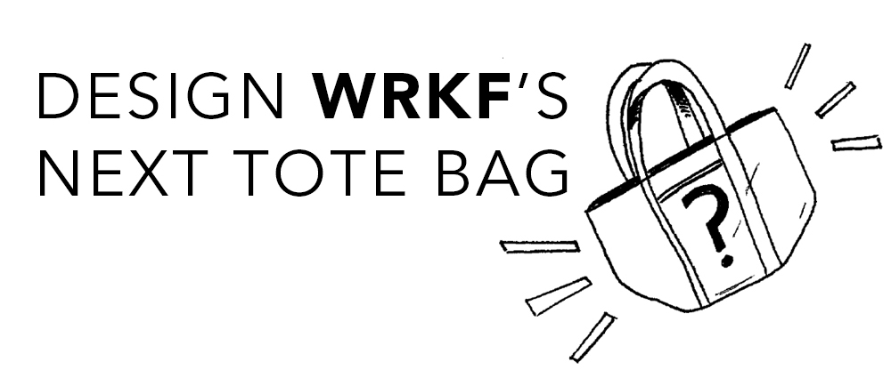 design wrkf's tote bag