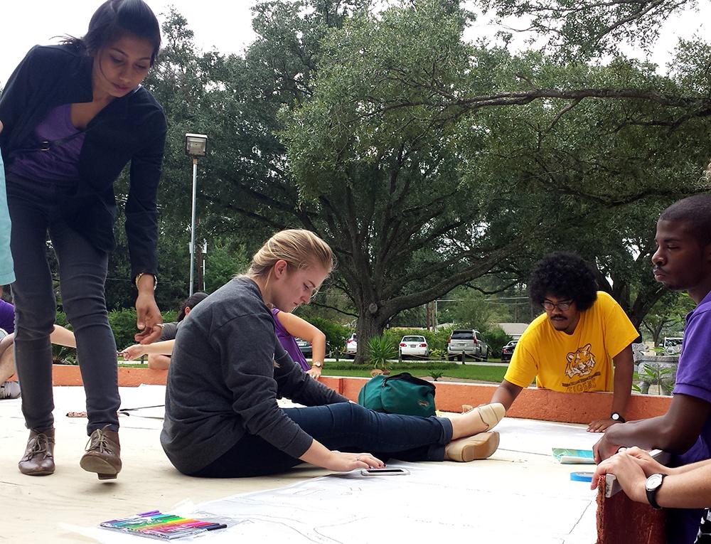 lsu architecture students work