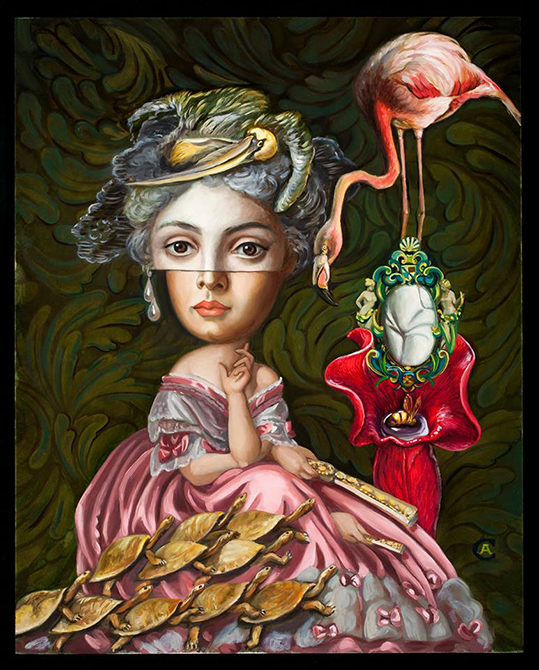 painting by carrie ann baade