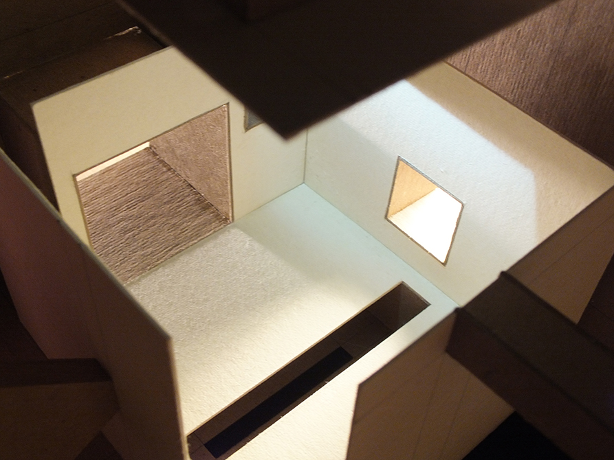 light model, lsu architecture student work