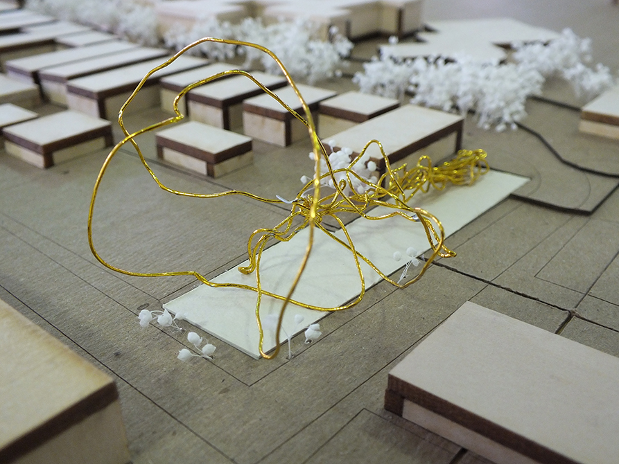 second year density project, lsu architecture student work