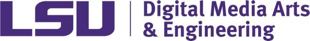Logo: LSU Digital Media Arts & Engineering