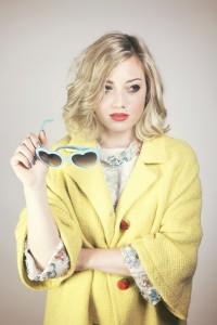 Time Warp fashion shoot featuring Victoria Fontenot (model); photograph by Malarie Zaunbrecher