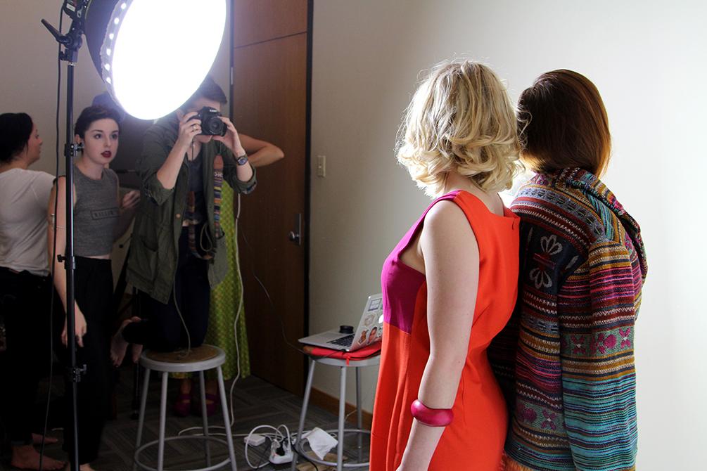 Time Warp Fashion Shoot