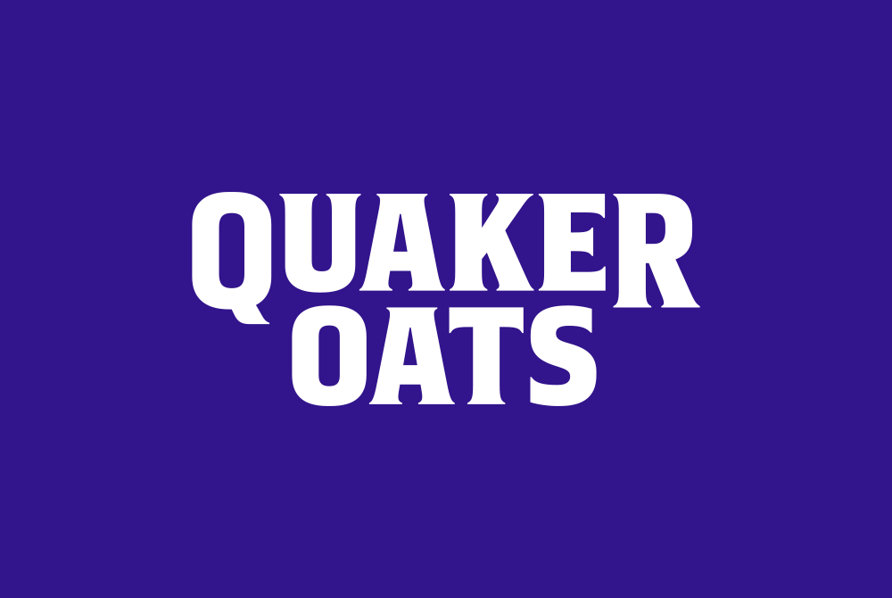 quaker oats, lsu graphic design alumni work