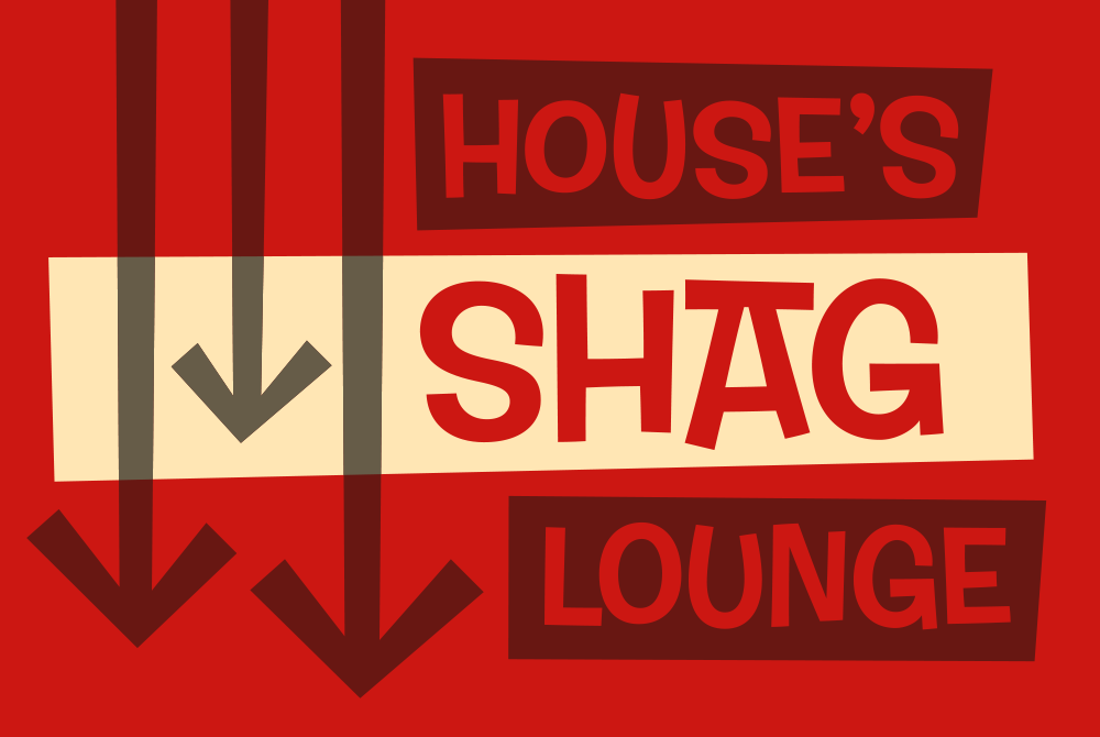 shag lounge, lsu graphic design alumni work