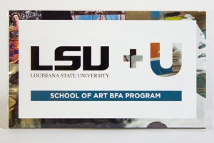 Graphic advertising LSU BFA in Art