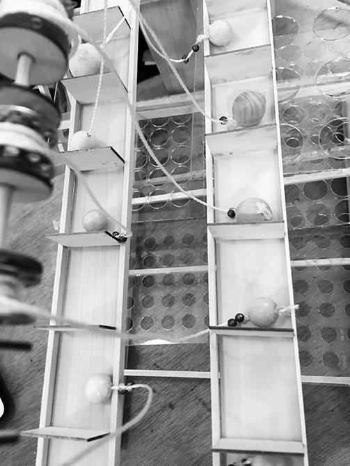 Bosarge machine, lsu architecture student work