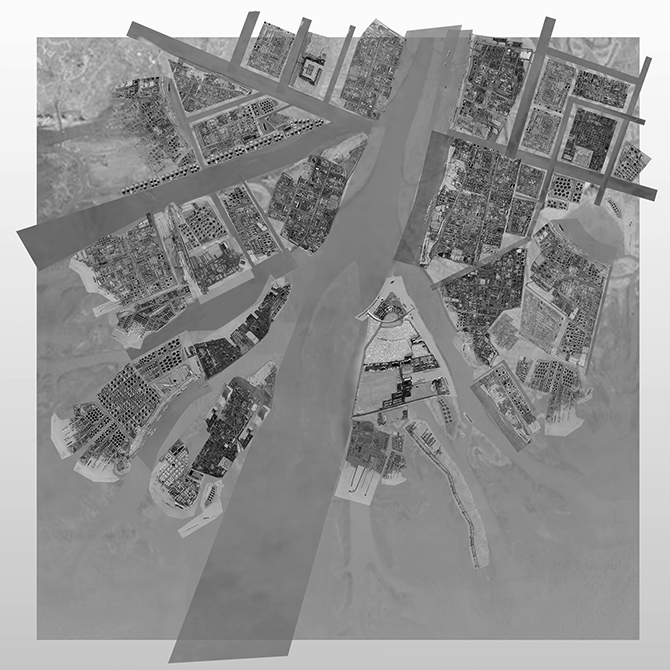 aerial image grayscale