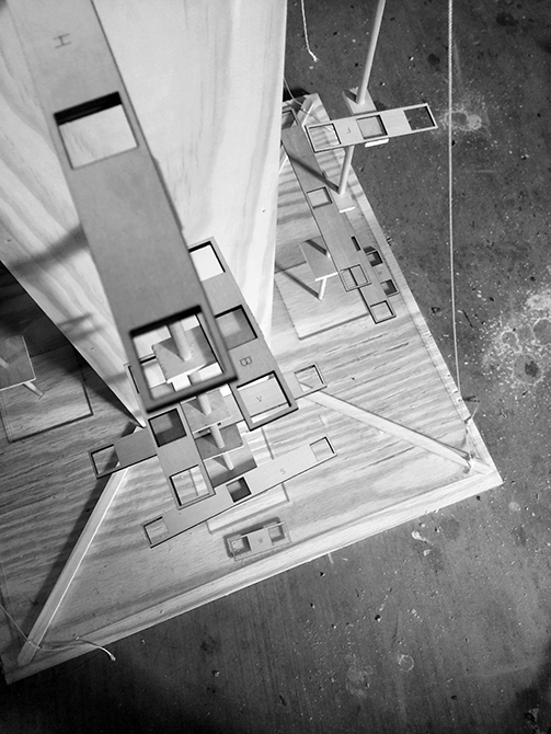 model view above
