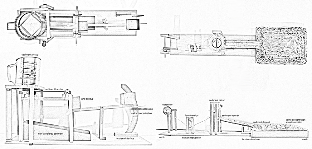 Machines diagram, studio work by Cameron Spencer