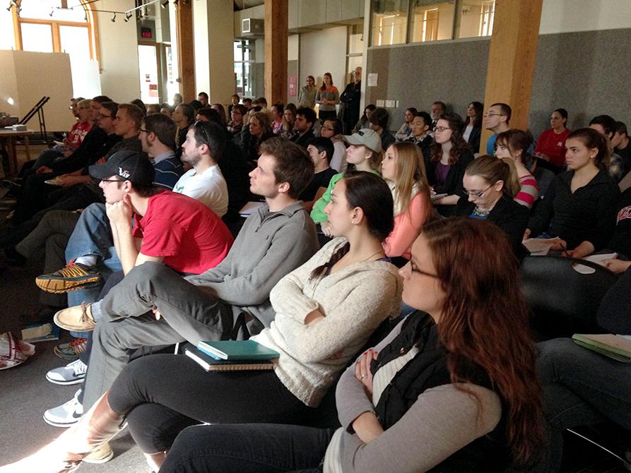 Hyde Workshop audience