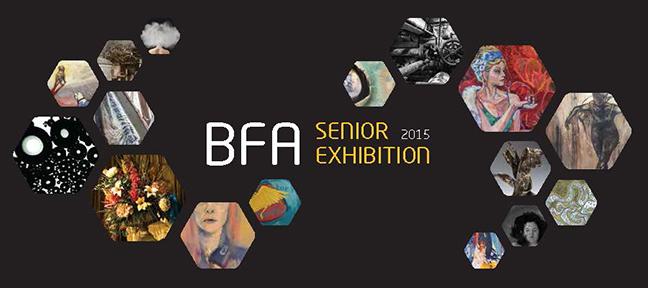 Graphic advertising BFA Senior Exhibition