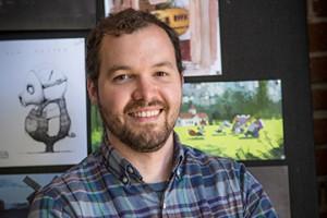 Bradley Furnish in a Pixar Studio