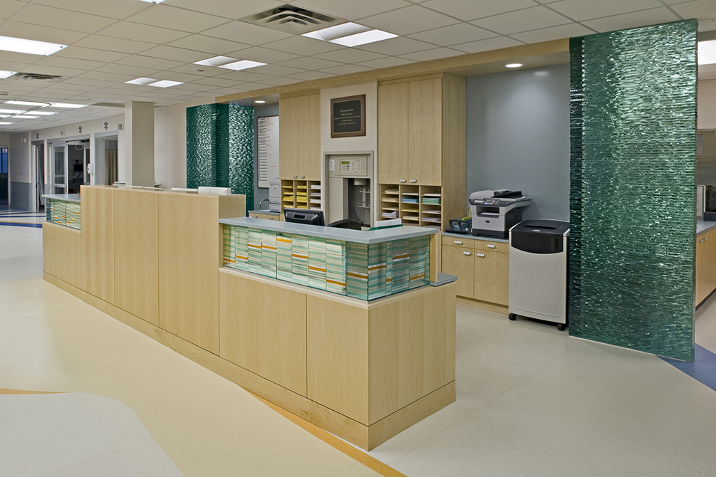 Children's Hospital of New Orleans CICU Expansion, lsu interior design alumni